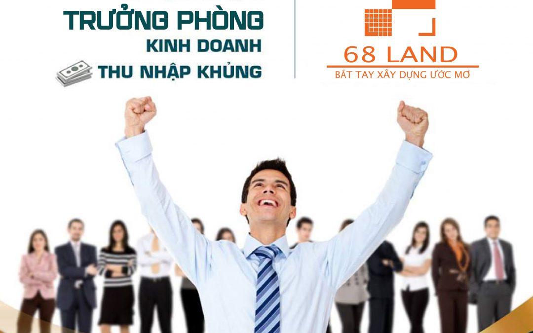 TRƯỞNG PHÒNG KINH DOANH BĐS
